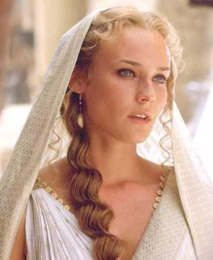Diane Kruger. Helena de Troya