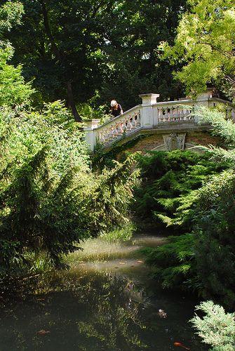 Le Parc Monceau, Paris, France
