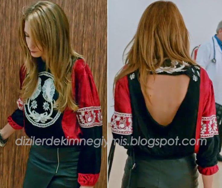 Dizilerde Kim, Ne Giymiş ??: Medcezir - Serenay Sarıkaya, 45.Bölüm Elbiseleri
