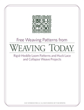 1000 Images About Rigid Heddle Weaving Patterns On
