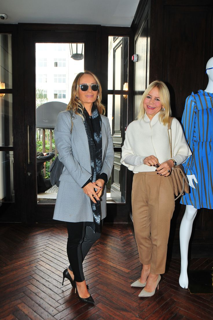 Demet Hanif and Derya Karagülle attending The PINKO Invasion presentation at the Soho House in Istanbul