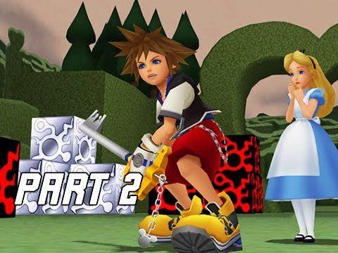 Kingdom Hearts 1.5 Walkthrough Part 2 - Wonderland (PS4 Let's Play)