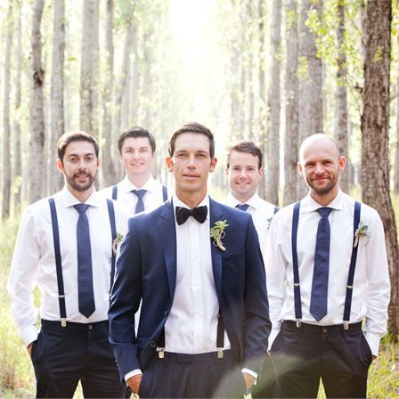 Bianca & Walter's Real Wedding - The Groomswear #hitchedrealwedding