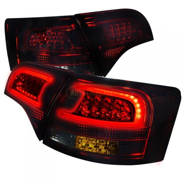 Spec-D LT-A4065RGLED-APC | 2007 Audi A4 Smoke LED Taillights for Coupe/Sedan/Hatchback/Wagon