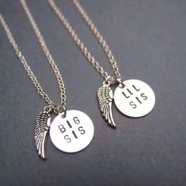 25 Unique Sister Necklace Ideas On Pinterest Sister