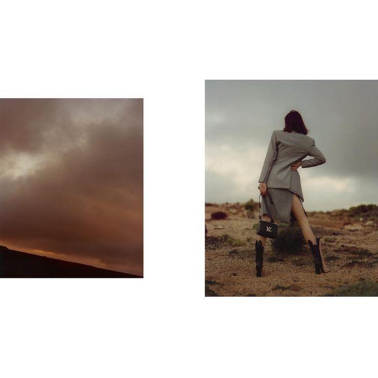 "281 Likes, 4 Comments - Jeff Boudreau (@jeff_bou) on Instagram: ""sudden storms 🌄 helena x 👜Louis Vuitton"""