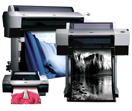 EPSON allowances three large format printer http://www.wasteinkpads.com/