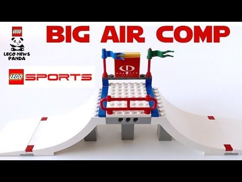 BIG AIR COMP Speed Build - LEGO SPORTS 3536 - LEGO GRAVITY GAMES Release...