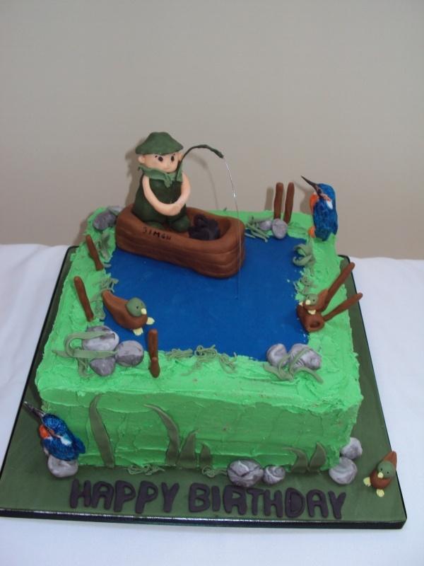 square, grass, pond, rocks, fence, boatPonds, Fence, Cake, Birthday, Grass, Boats, Baking, Rocks, Deserts