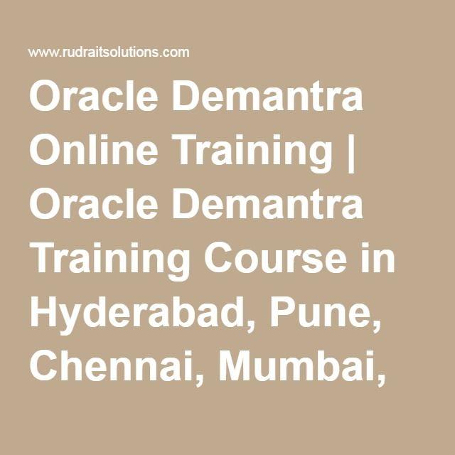 Oracle Demantra Online Training | Oracle Demantra Training Course in Hyderabad, Pune, Chennai, Mumbai, banglore,India, USA, UK,…