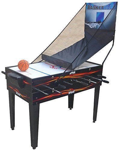 nice Voit 4 in 1 Table Game Foosball Air Hockey Pool Basketball, 48-Inch The Voit 4 in 1 Table Game has 4 table games which will keep family and friends playing for days. This well made, durable table is engineered with lot... http://gameclone.com.au/accessories/voit-4-in-1-table-game-foosball-air-hockey-pool-basketball-48-inch/