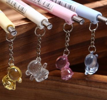 AD0-Wholesale best 0.5mm lovely monkey pendent mechanical pencil(1piece)