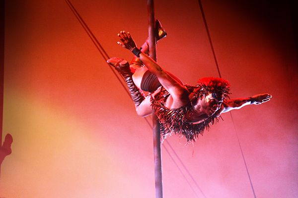Entertainment at Zulu Sundance 2014 at The Roundhouse.  Photo credit Vivid Experience Ltd.