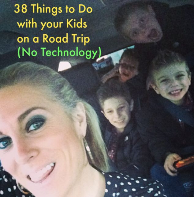 spring summer is the time for road tripshere are some ideas to keep the kids entertained without turning on the in car entertainment system