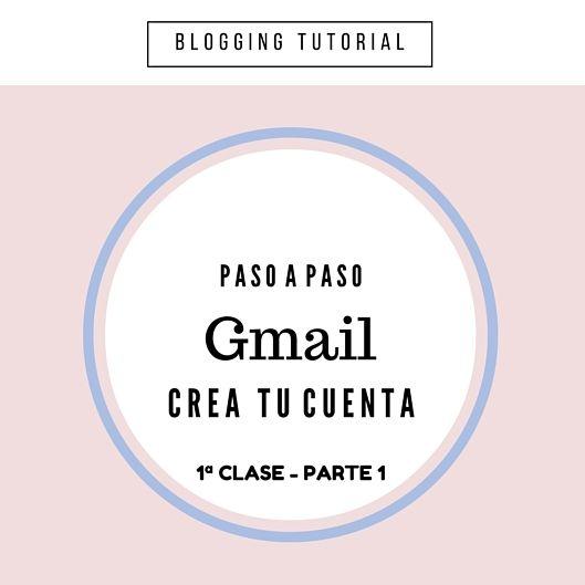 Tutorial Blogger: Crear cuenta de correo Gmail - C1-P1 http://blgs.co/3xrdnq