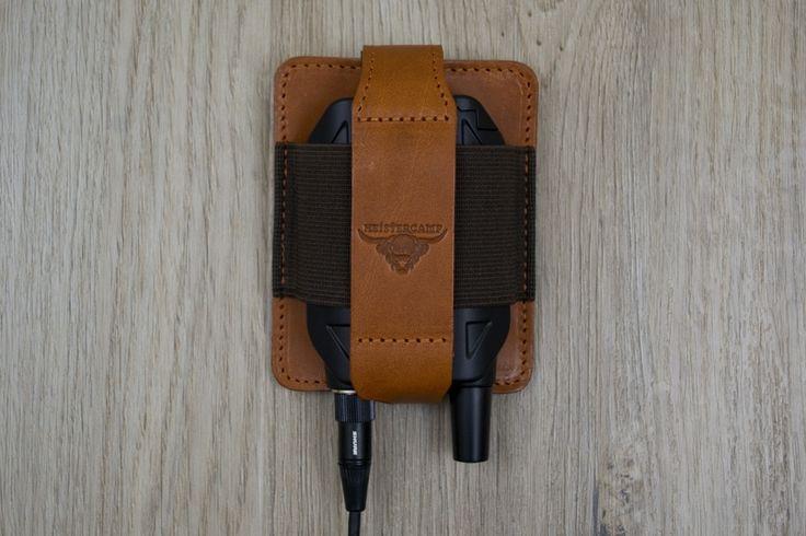 Transmitter Pouch | Handmade transmitter pouch from Heistercamp LLP