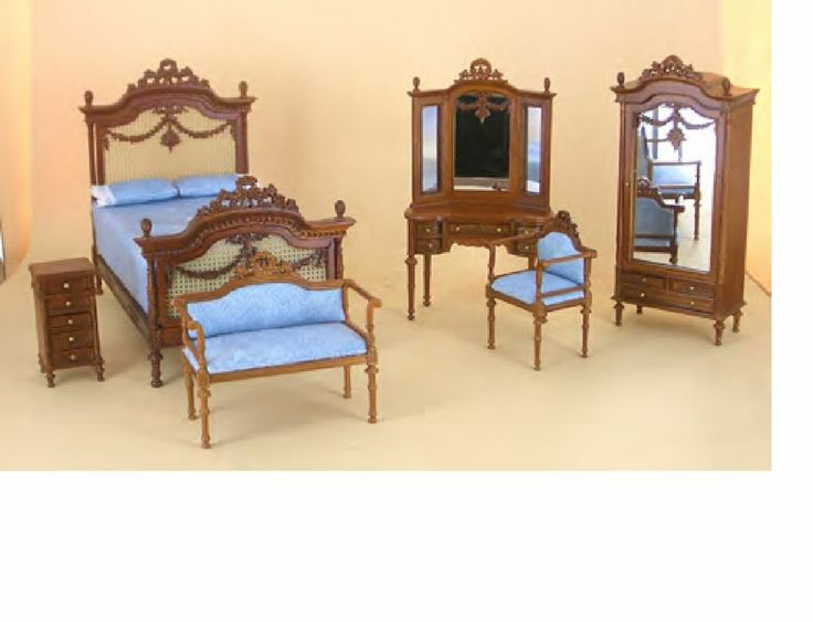 LAST ONE FOR THIS LOW PRICE miniature BESPAQ bedroom FURNITURE set