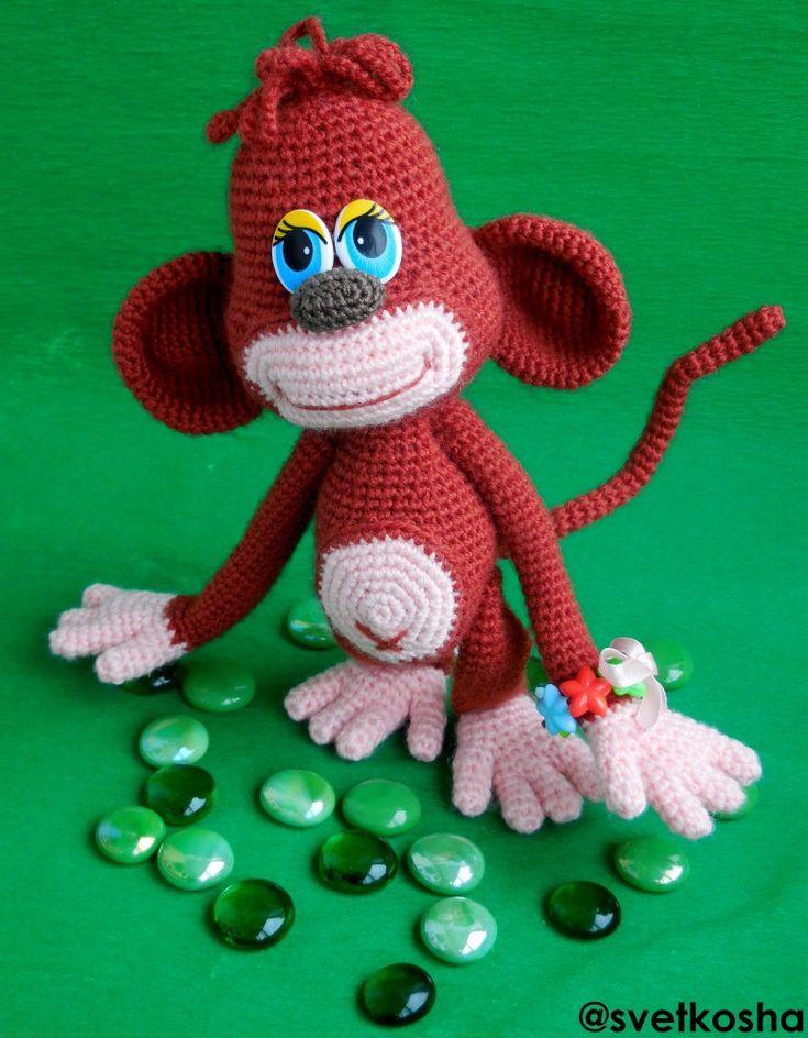 119 besten Opičky (monkey) Bilder auf Pinterest | Häkelpuppen, Affe ...