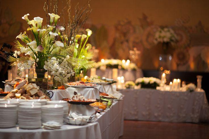 Eglinton Grand wedding food