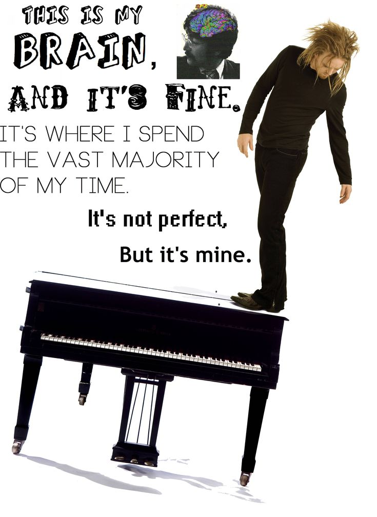 Tim Minchin - Quote from his song about feeling like the smallest babuchka(sp?) doll in a set of nesting dolls; an affirmation of self okay-ness.