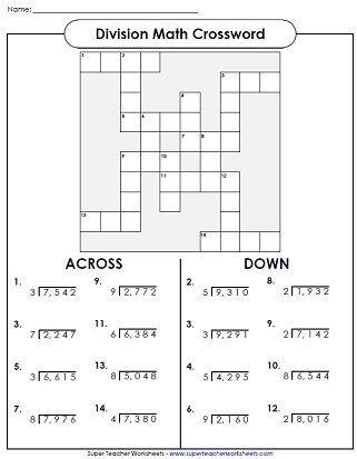 Division Worksheets … | Division | Math