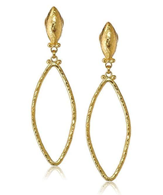 Gurhan Geo Drop Earrings w/ Rock Crystal Centers q8LbjUdp