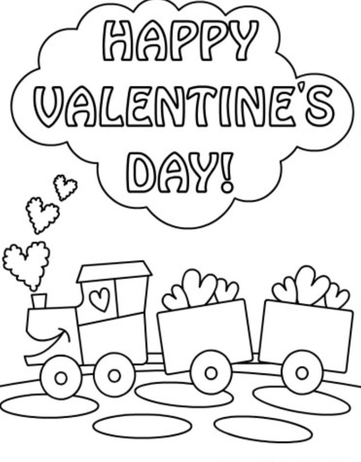 22 best Valentine Coloring Pages images on Pinterest