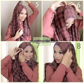 Tutorial Memakai Hijab ala Ghaida Tsurayya