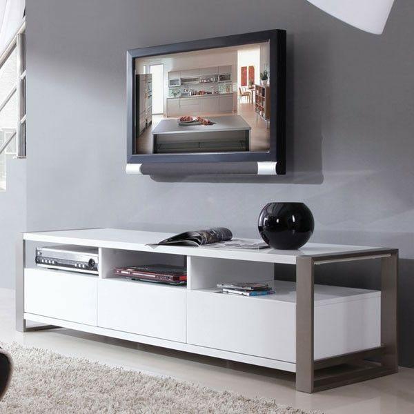 Fernsehschrank design  fantastischer weißer Fernsehschrank | My new home ♡♡ | Pinterest ...