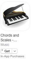 Piano Chords and Scales by Stefan Gisler | posted in: 0. Instrumente, 0a. Tasteninstrumente, 2. Musik lernen, 3. Musiktheorie, 3a. Harmonielehre, Apple (iOS), Apps, Google (Android), Klavier, Musik, Musiktheorie, Piano | 0