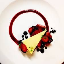 Image result for cheesecake factory plating photos