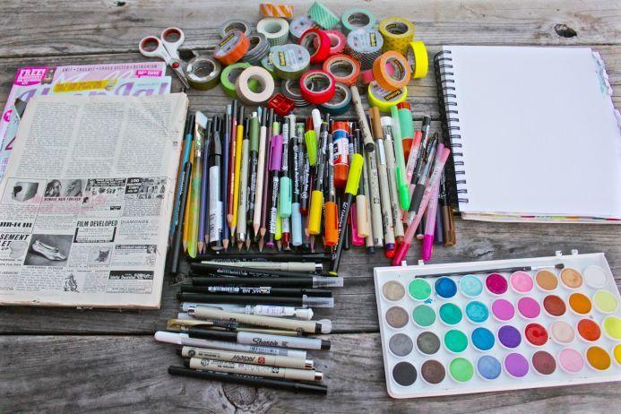 Sketchbook Adventures Online Workshop