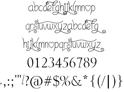 I Love What You Do!!.. font by Jonathan S. Harris - FontSpace