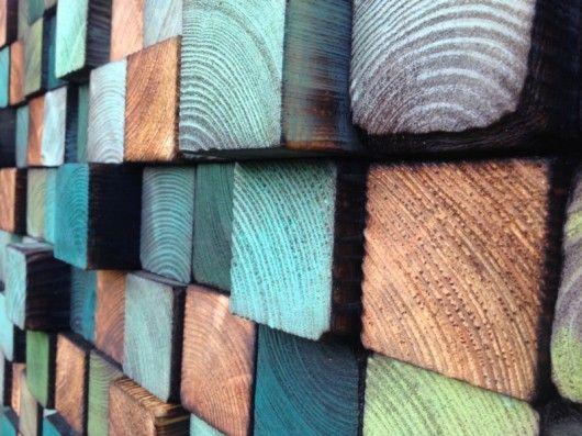 Mozaika drewniana - NA ZAMÓWIENIE