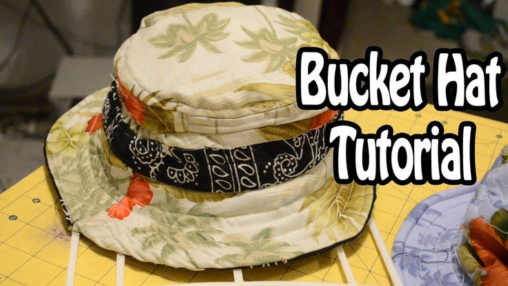 Bucket Hat Tutorial | The funniest commentary on a sewing tutorial ever and I love that a dude is teaching me how to sew