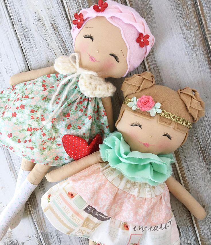 Handmade Dolls by SpunCandy