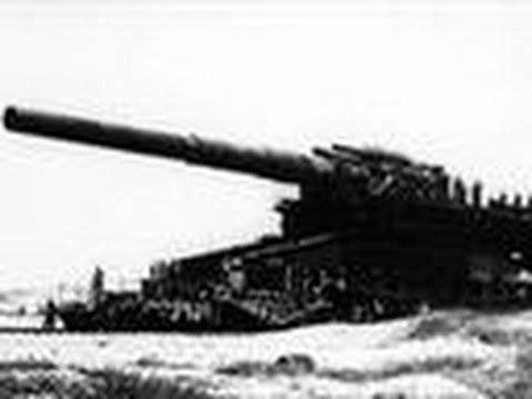 Hitler Reviews The Massive Gustav Railway Gun