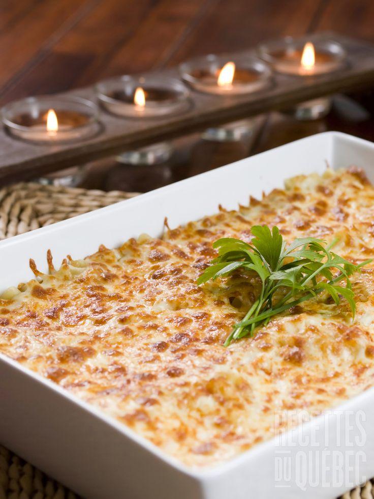 Lasagne aux fruits de mer #recettesduqc #souper