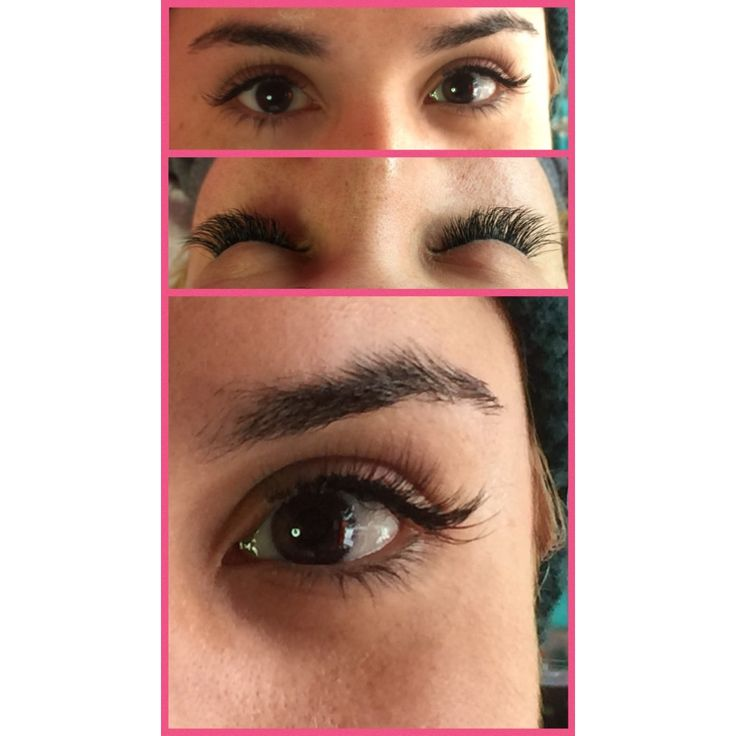 Lovely Silk Eyelash Extensions done by Kim at The Lash Attic