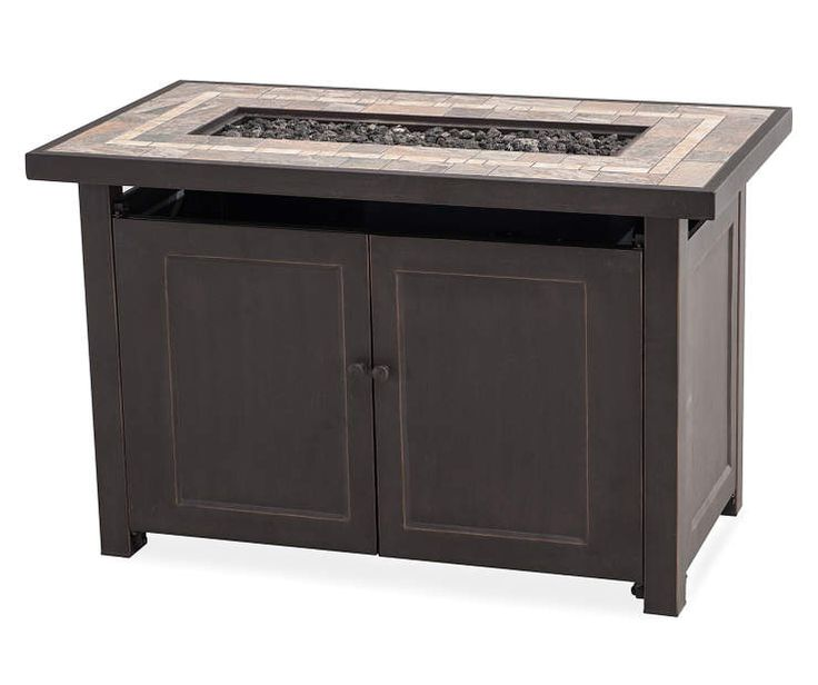 40 Quot Del Rio Gas Fire Pit Table At Big Lots Patio Gas