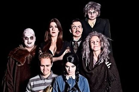 The Addams Family Musical. Great production by the RSC