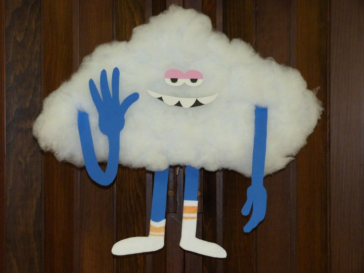 Diy Cloud Guy From Trolls Fun Decoration For Birthday