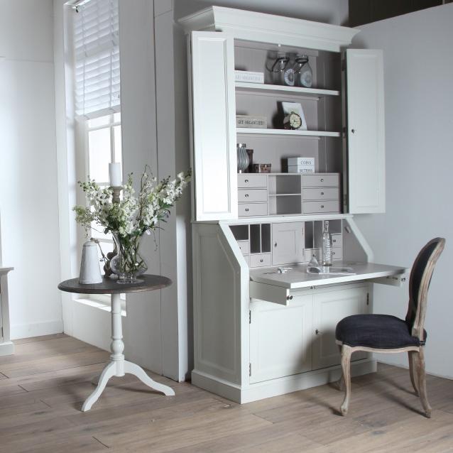 Sfeervolle bureau kast  Verkrijgbaar bij Meubelpark de Bongerd    Country style   Pinterest