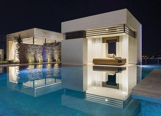 Floating Bedroom At The 39 New American Home In Las Vegas