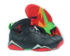[304775-029] Air Jordan 7 Retro Negro Rojo Verde Para Hombre Zapatillas Talla 13 pulso Gry