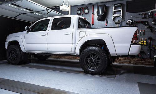 White Toyota Tacoma DCSB TRD Sport (Toyotaworld.com user ...