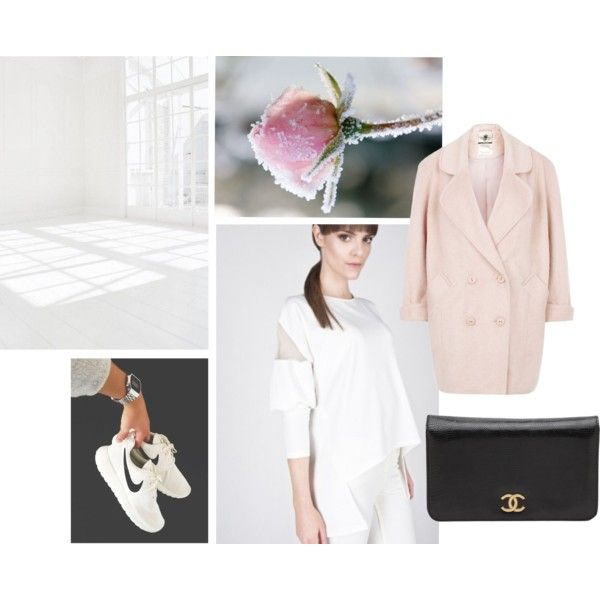 """Snowy Rose"" by byorianne on Polyvore"