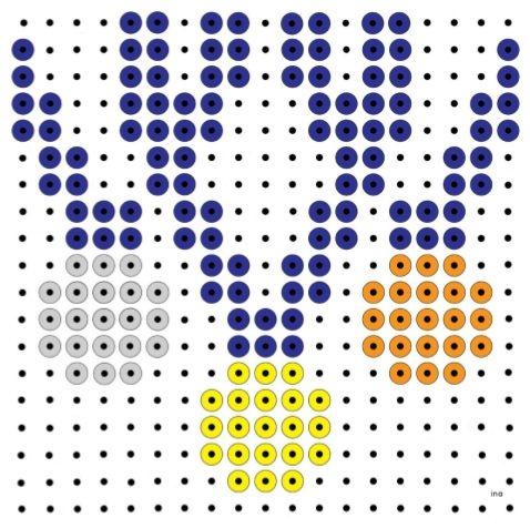 Pinterestpagina met mozaiekideeën: http://pinterest.com/KBW2013sport/kralenplanken-en-strijkkralen-kbw-2013-kinderboeke/