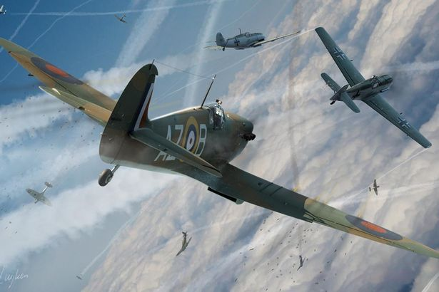 A-Battle-of-Britain-spitfire by GhostR3x1