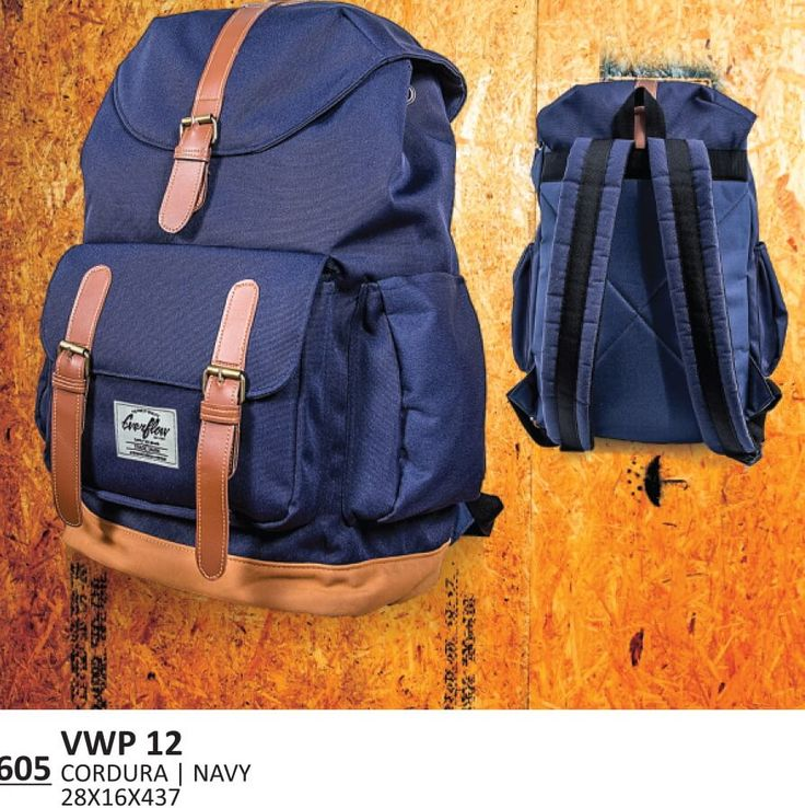 Tas Ransel / Backpack Kasual Unisex – VWP 12